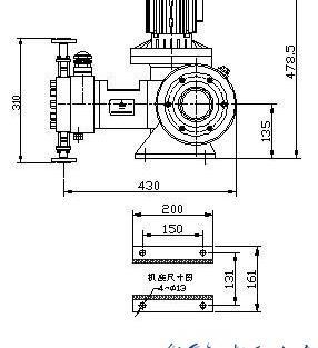 JYZ系列液压隔膜式计量泵产品参数