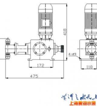 J-X系列柱塞式计量泵产品参数