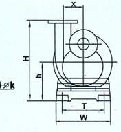 FZB系列氟塑料自吸泵(安装尺寸)
