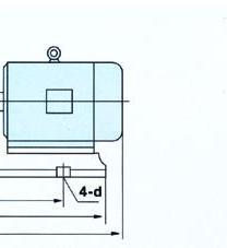 FSB系列氟塑料合金离心泵(安装尺寸)