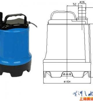 MSP-18型磁力驱动潜水泵产品参数
