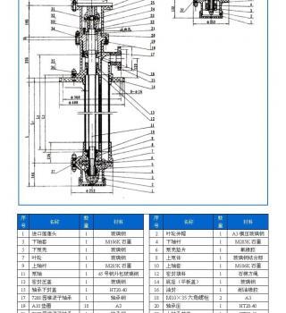 FSY型、WSY型立式玻璃钢液下泵(安装尺寸)