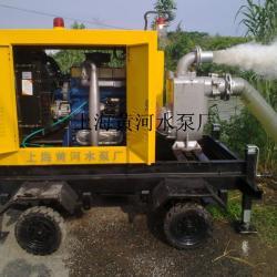 柴油机泵组工作现场图片