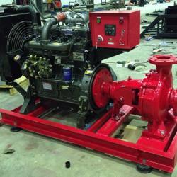 XBC型柴油机消防泵组(单极、多极、双吸消防泵组)