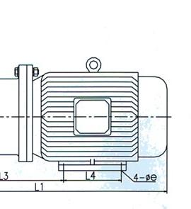 CQ型磁力驱动泵(安装尺寸)