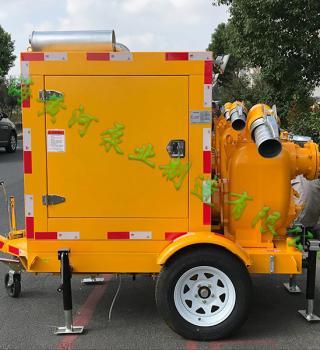 济宁防汛办防汛物资项目采购移动防汛泵车