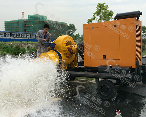 柴油机防汛水泵