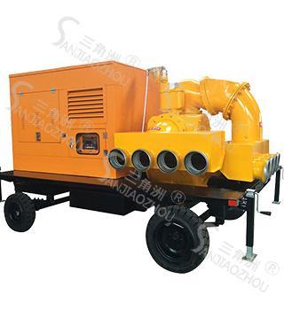 自吸式柴油机防汛抢险泵车