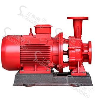 XBD-W型卧式单级单吸消防泵(性能参数)