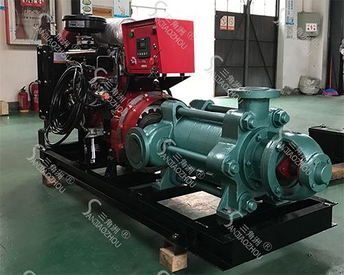 多级柴油机水泵