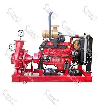 单级离心柴油机消防泵