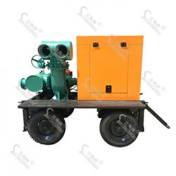 KDWY型拖车式柴油机防汛移动泵车