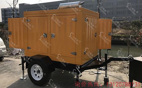 发电排水泵车