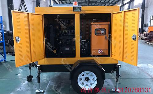 发电机水泵