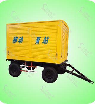 KDY系列发电排水一体防汛泵车