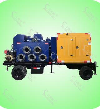 大流量拖车式柴油机防汛水泵