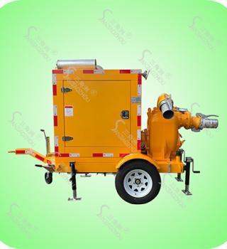 拖车式柴油机排涝抢险泵车