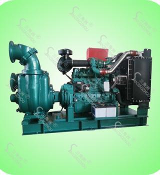 排灌站排涝柴油机泵组