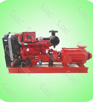 XBC单吸分段式多级柴油机消防泵