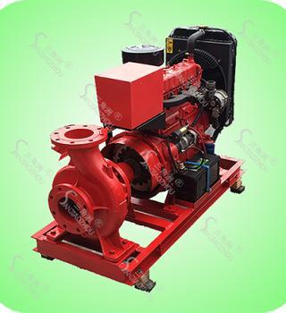 XBC-KDS型卧式单级离心柴油机消防泵