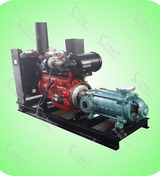 卧式多级柴油机水泵