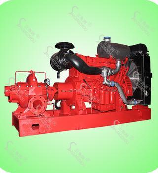 XBC型卧式单级双吸柴油机消防泵