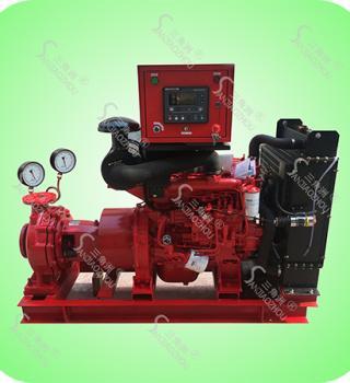 XBC-W型卧式单级离心柴油机消防泵