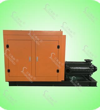 D、DG型泵系卧式柴油机多级离心泵