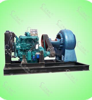 KDW型柴油机抽水泵-防洪排涝大流量柴油机排水泵