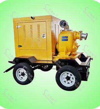 强排污自吸式柴油机水泵