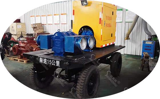 凸轮转子泵车