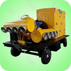 大流量混流式柴油机防汛泵车