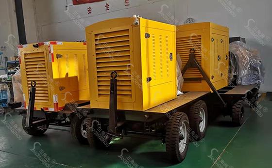 移动防汛泵车11