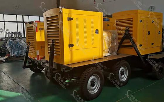 移动泵车22