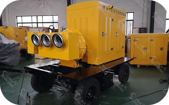 四轮防汛泵车1