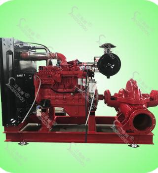 全自动柴油机消防泵-柴油机水泵机组
