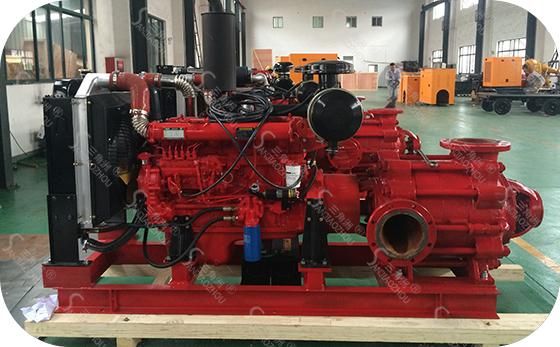 多级柴油机泵