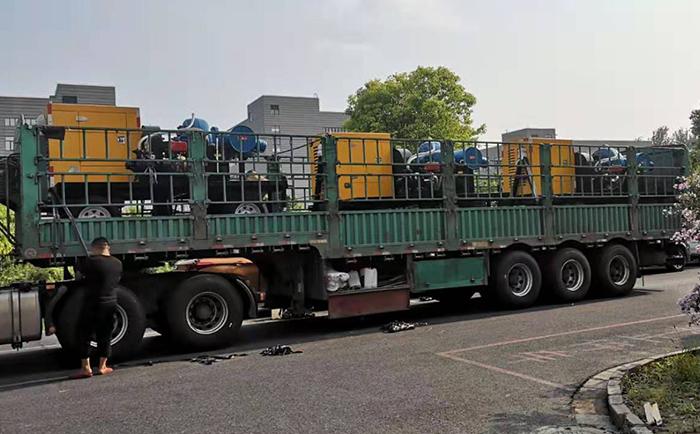 大排量防汛排涝泵车