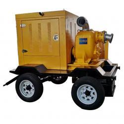 黄河防汛泵车